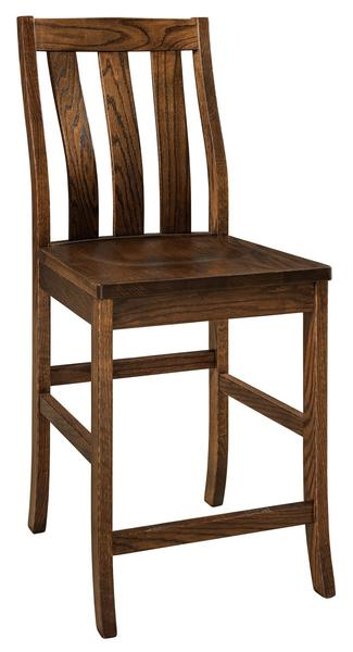 Amish Salem Bar Stool
